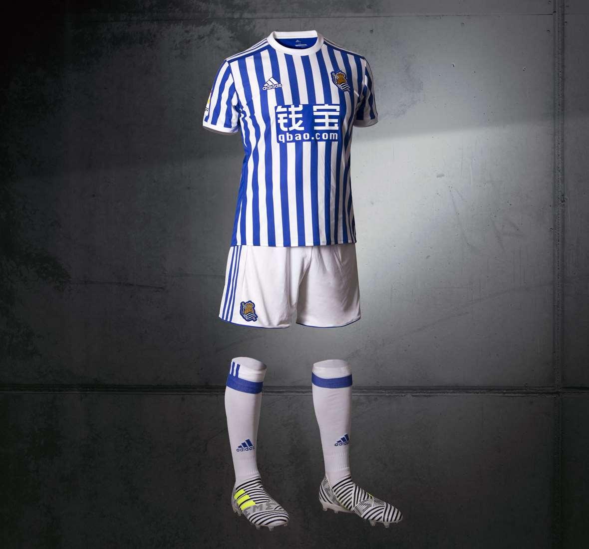 Domar Céntrico Destino  Presentadas las camisetas adidas de la Real Sociedad 2017/18 – La Jugada  Financiera